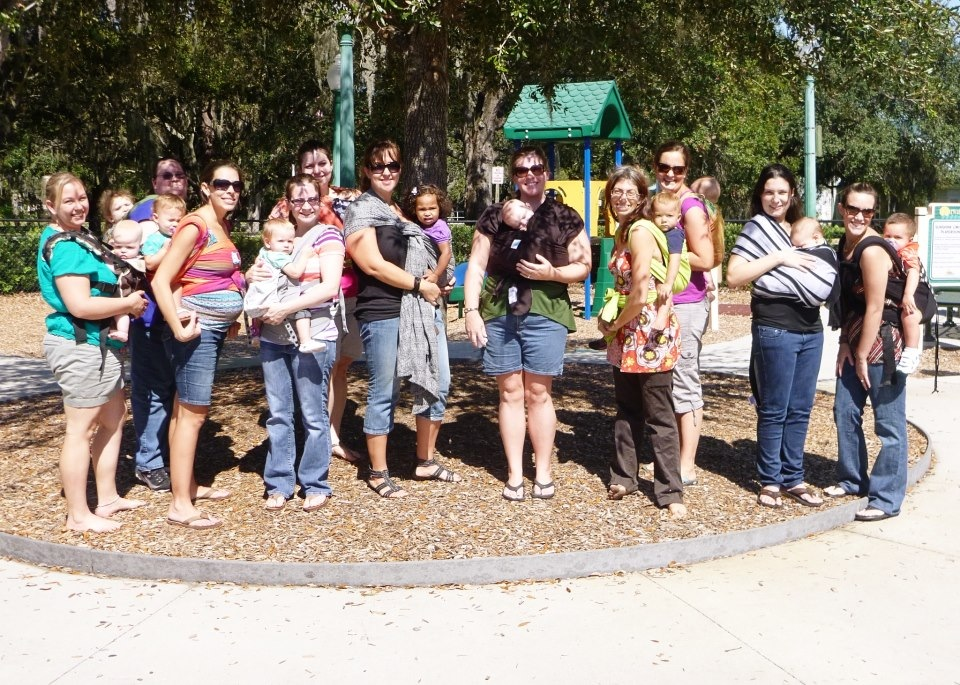tampa bay baby wearing group