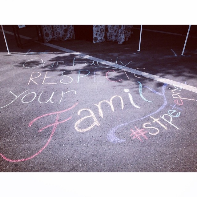Our Family Respects Your Family!