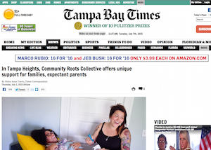Tampa Bay Times   In Tampa Heights, Community Roots Collective offers unique support for families, expectant parents