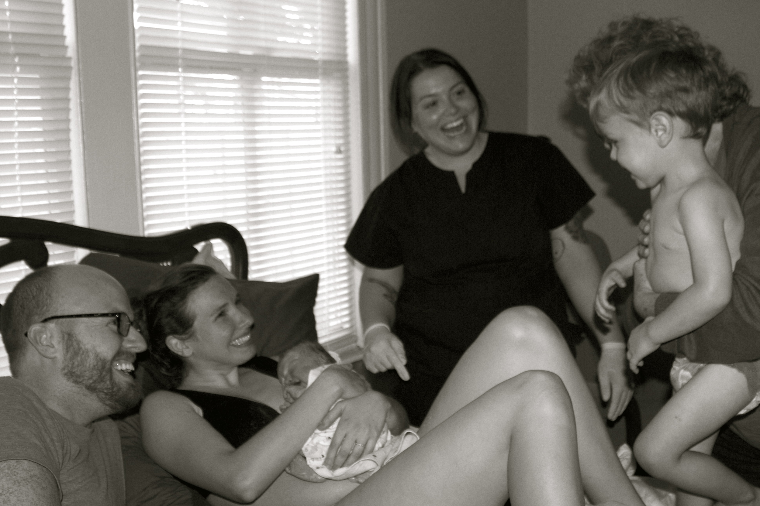 siblings present at home birth tampa