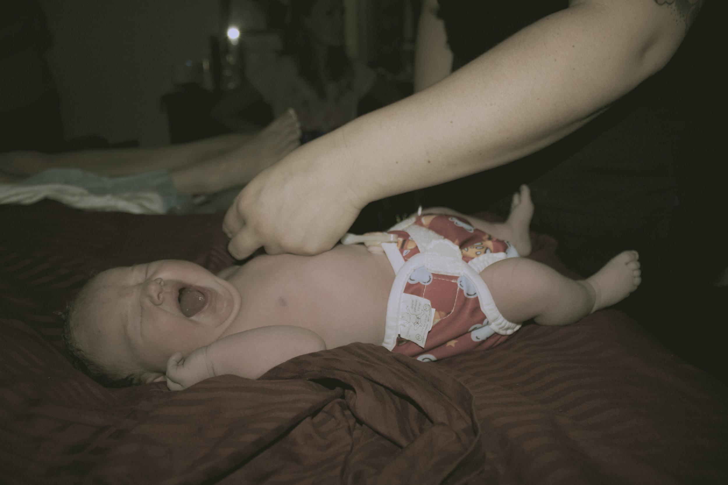 newborn baby tampa homebirth