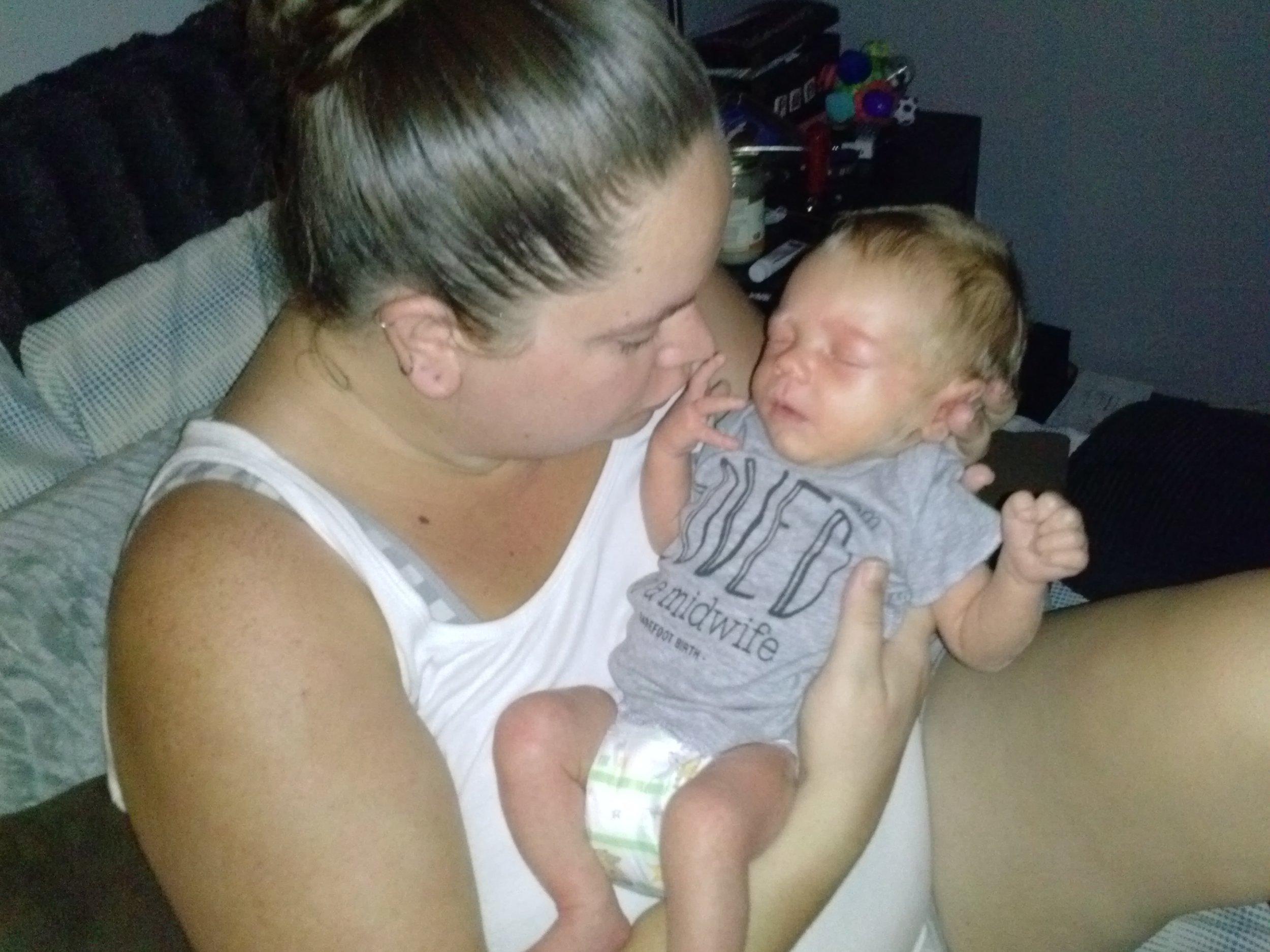 Emmett & his wonderful mommy