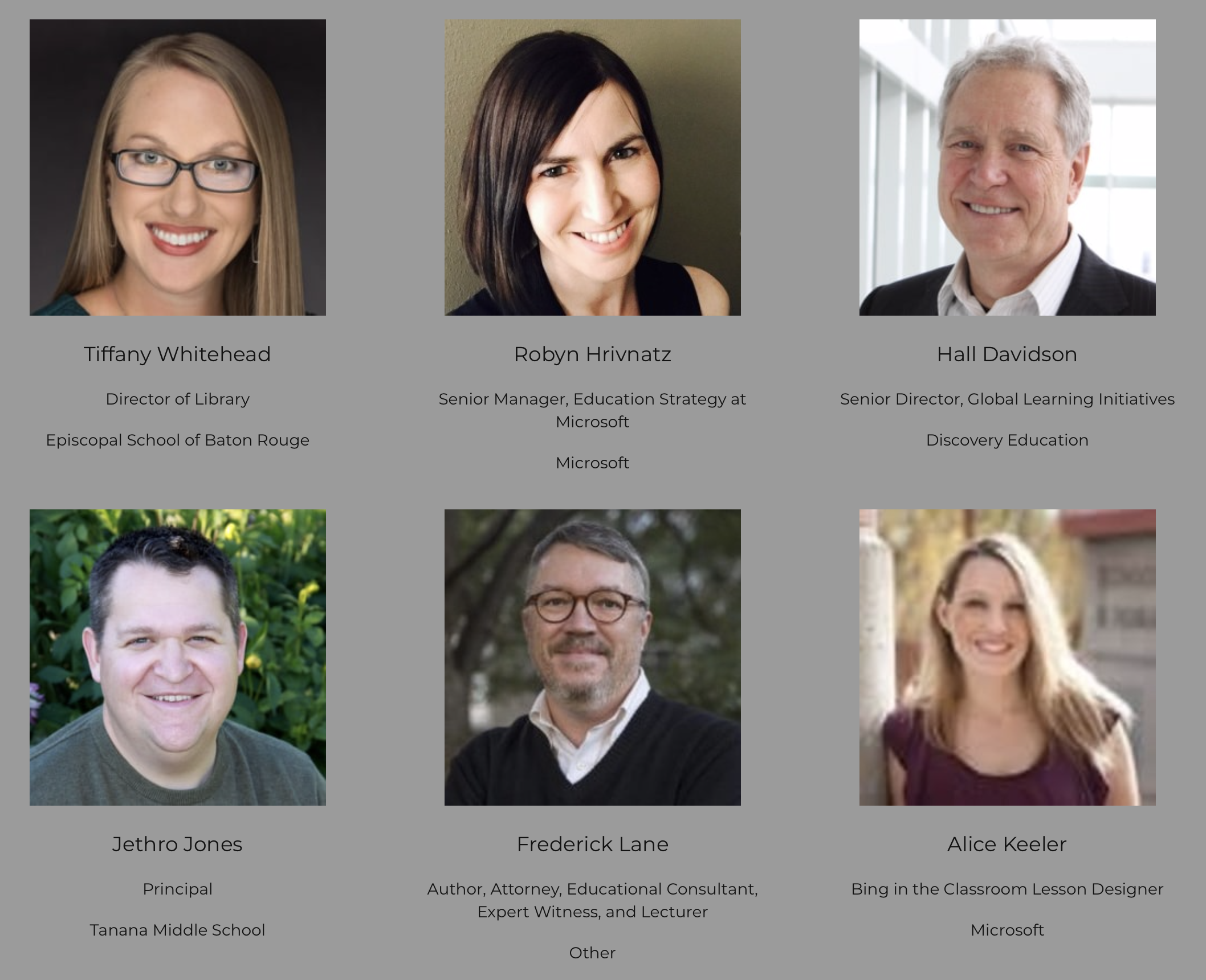 The featured speakers list at ASTE19 - Great company!