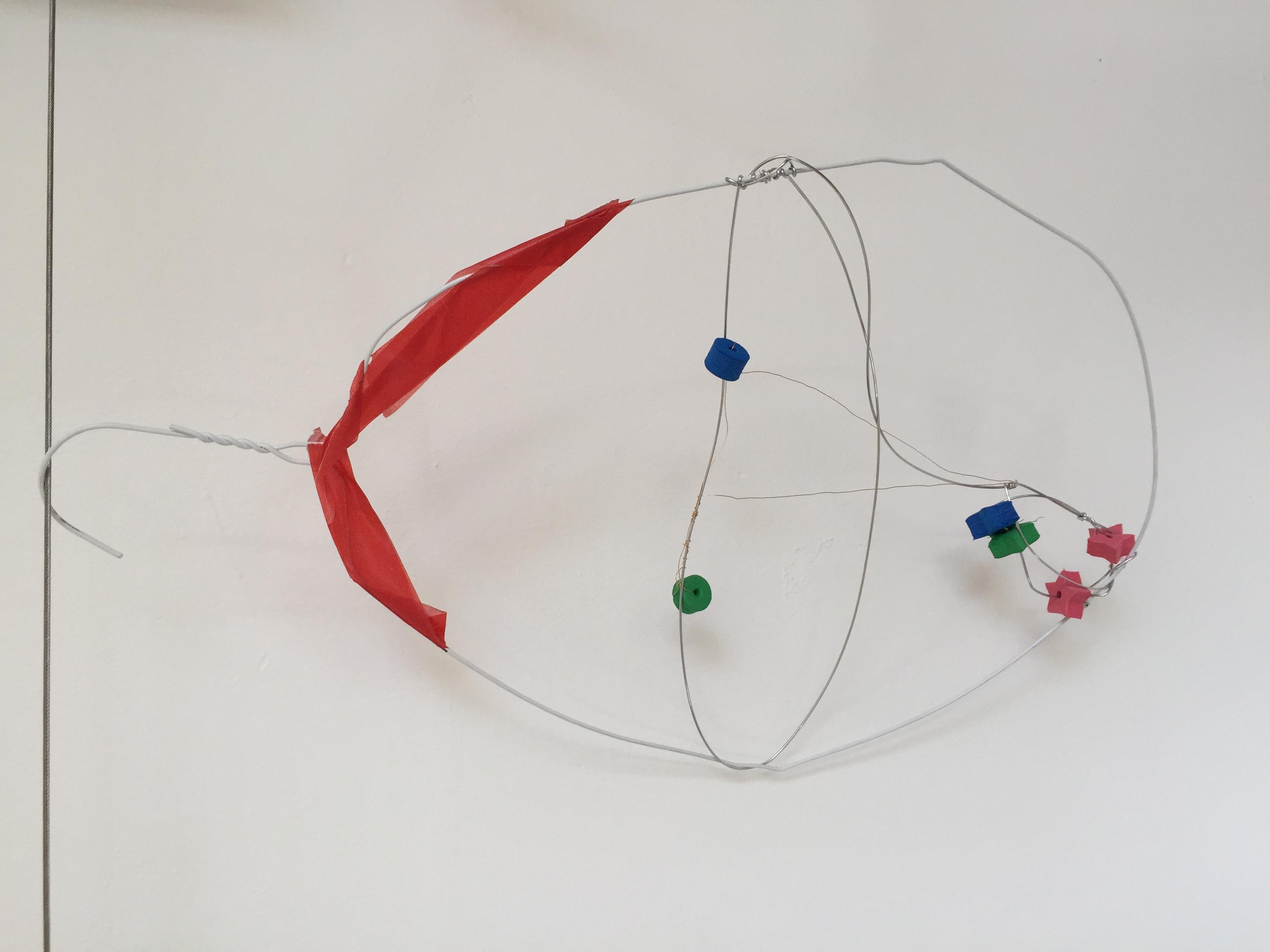 Calder wire portrait.