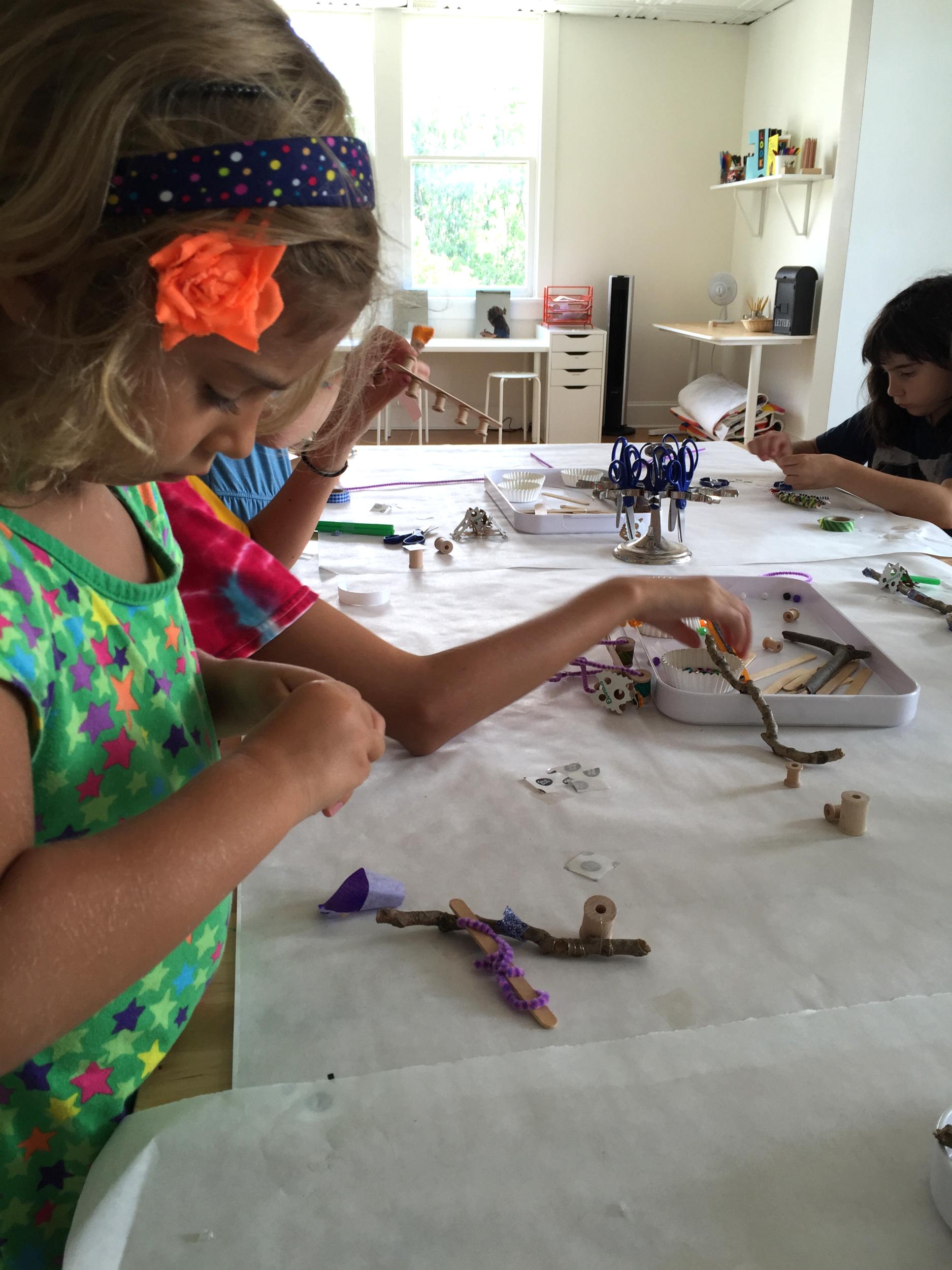 Calder toy making factory.