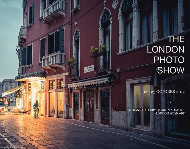 The London Photo Show 2017 starts next week, and a small number of my photos will be exhibited here. This year's venue is the Strand Gallery, 32 John Adam Street, WC2N 6BP - right next to Charing Cross Station. Please do visit this week-long public exhibition if you can; I'm sure it will be a real treat for photography lovers.  #londonphotoshow2017 #streetphotography #rohitgeorgephoto  Visit rohitgeorge.com to see more of my work.