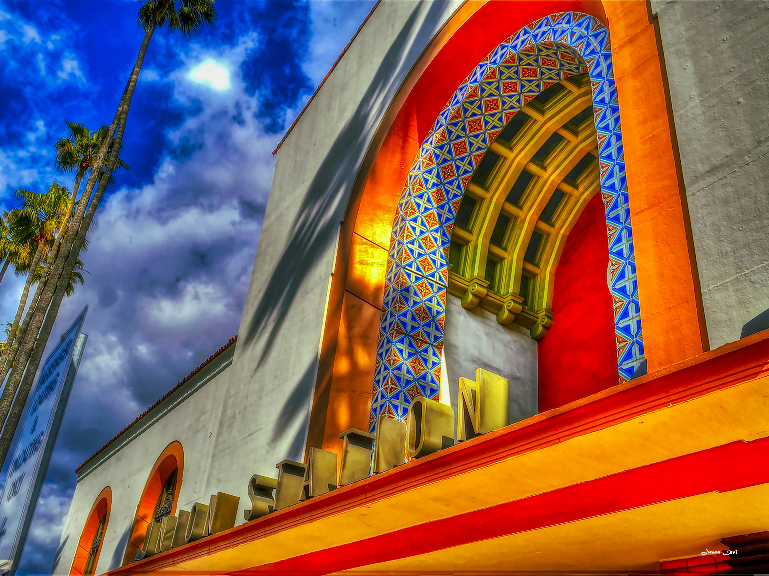 L.A. UNION STATION MARQUEE