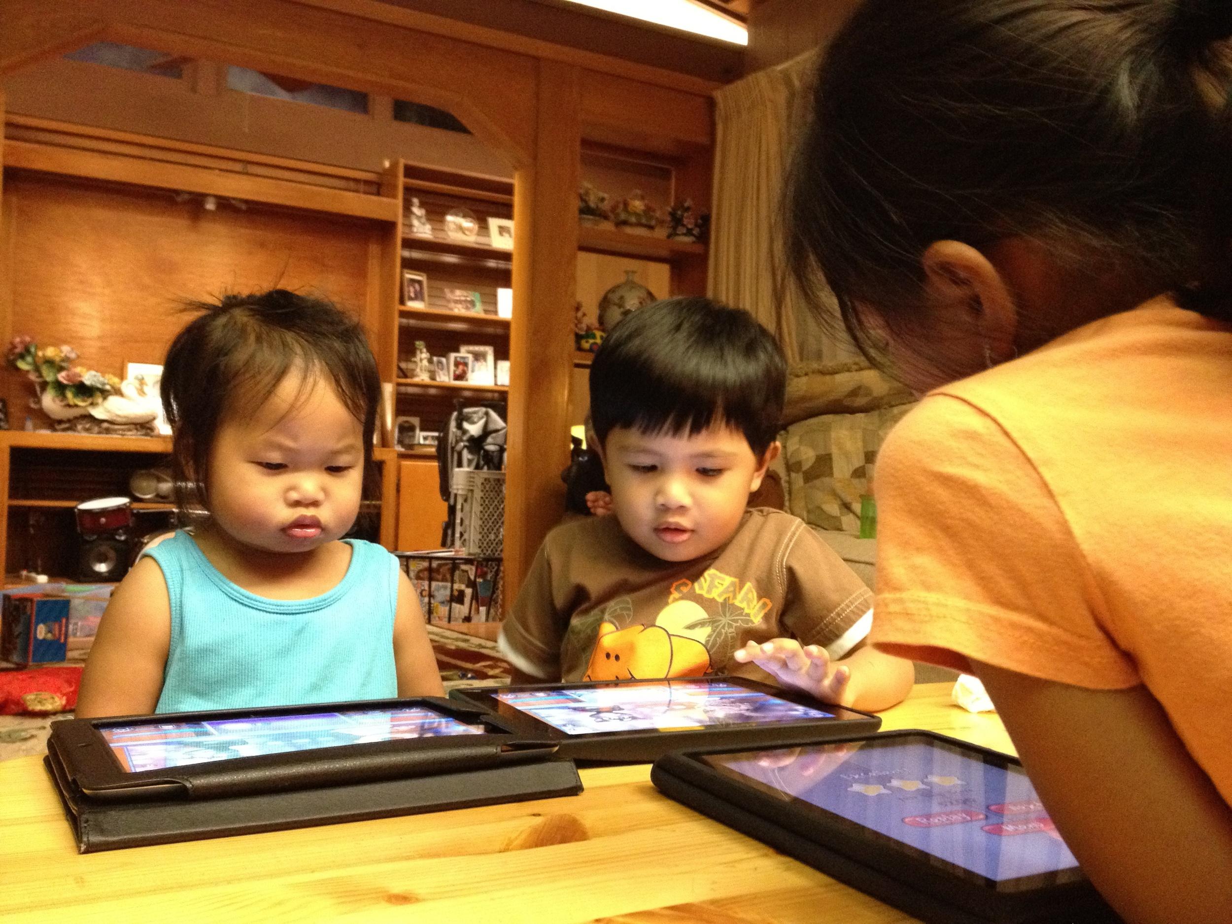 Gather Around the iPads