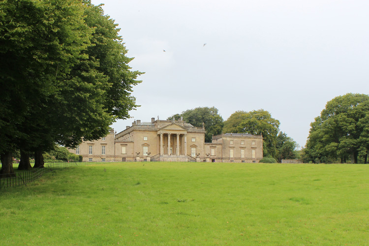The park provides the immediate setting to the Grade I Palladian house