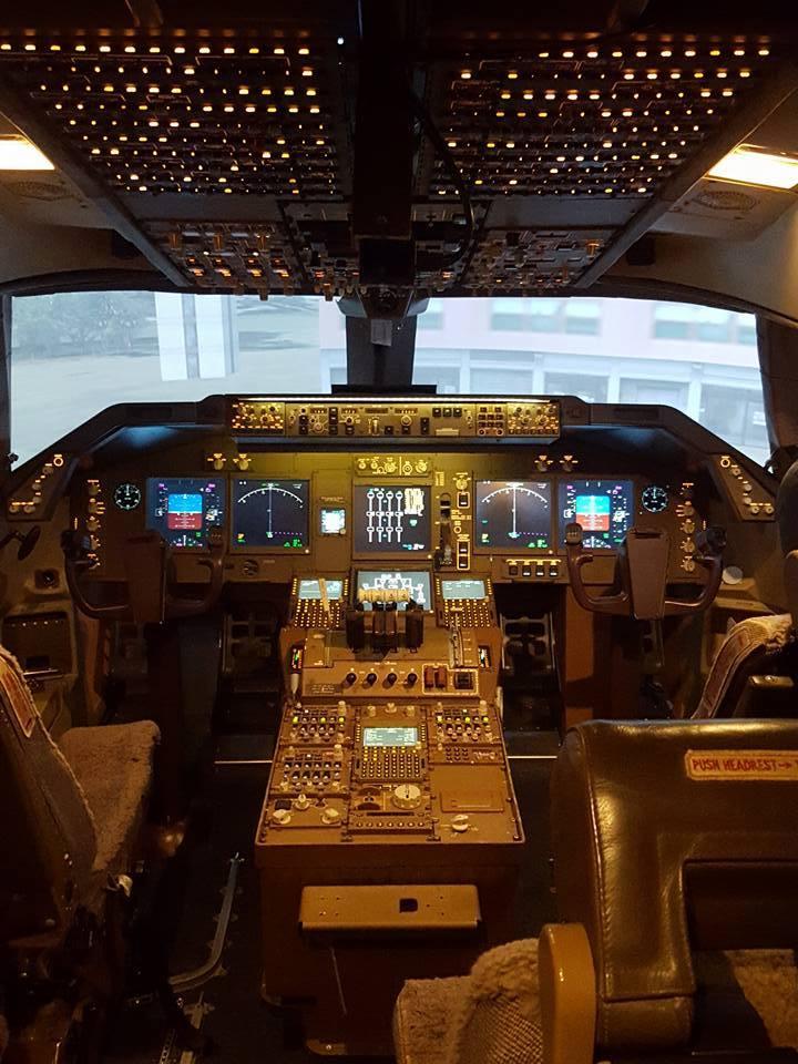 Simfest - Boeing 747-400  United Kingdom