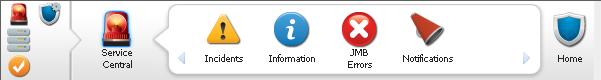 Click on a top-level menu item