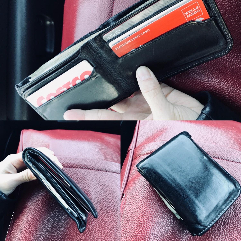 Snapshots of my boyfriend's current wallet
