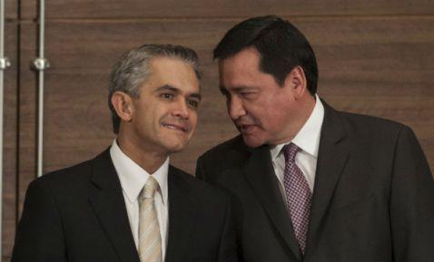 Miguel Ángel Mancera y Miguel Osorio Chong