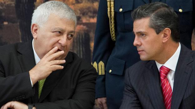Emilio Chuayffet y Enrique Peña Nieto