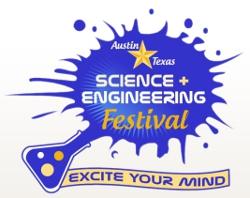 Figura 1. Logotipo del Festival de Ciencia e Ingeniería de Austin, Texas.