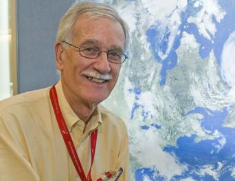 Figura 2. Dr. Compton Tucker, científico de NASA Goddard Space Flight Center.