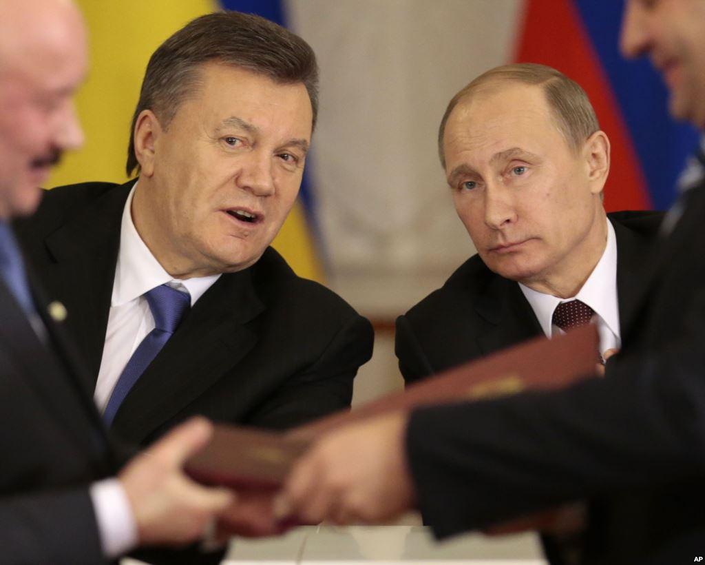 Yanukóvich y Putin