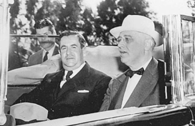 Manuel Ávila Camacho y Franklin D. Roosevelt