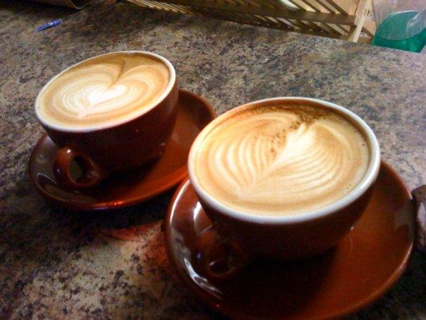 Homemade Latte Art