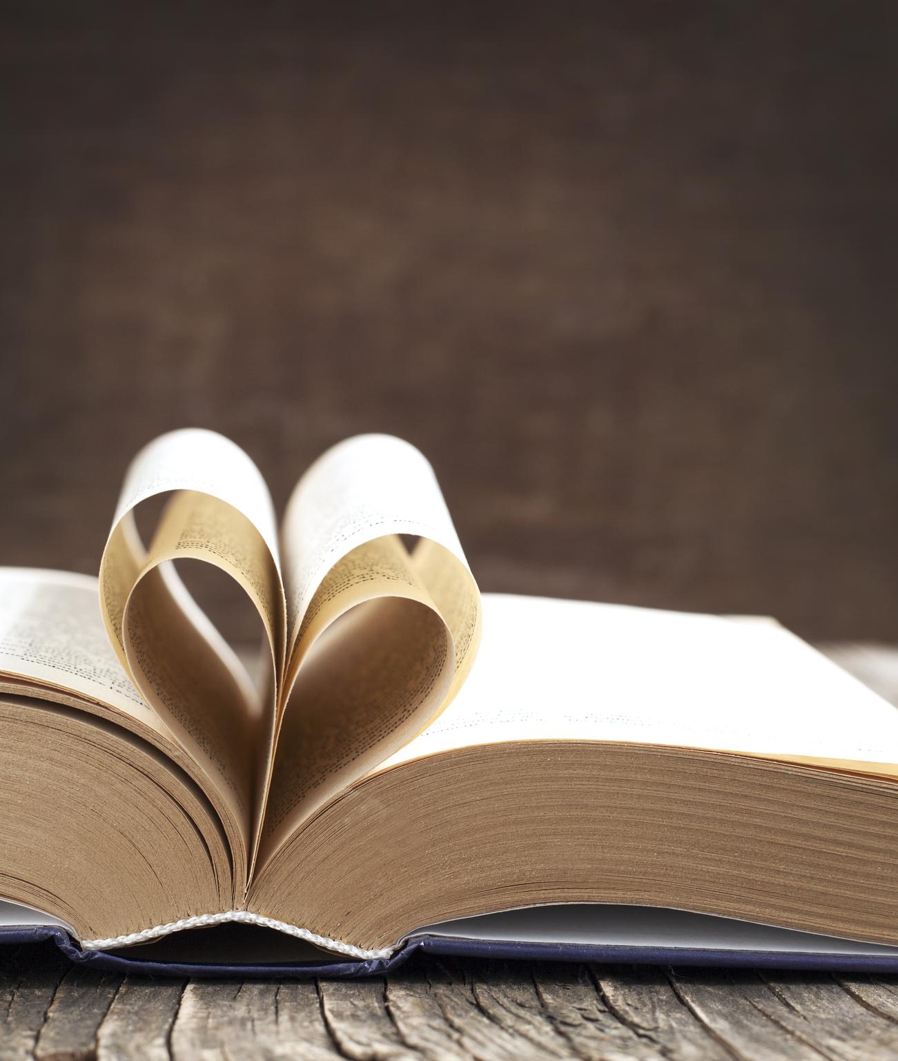 My love of romance books.
