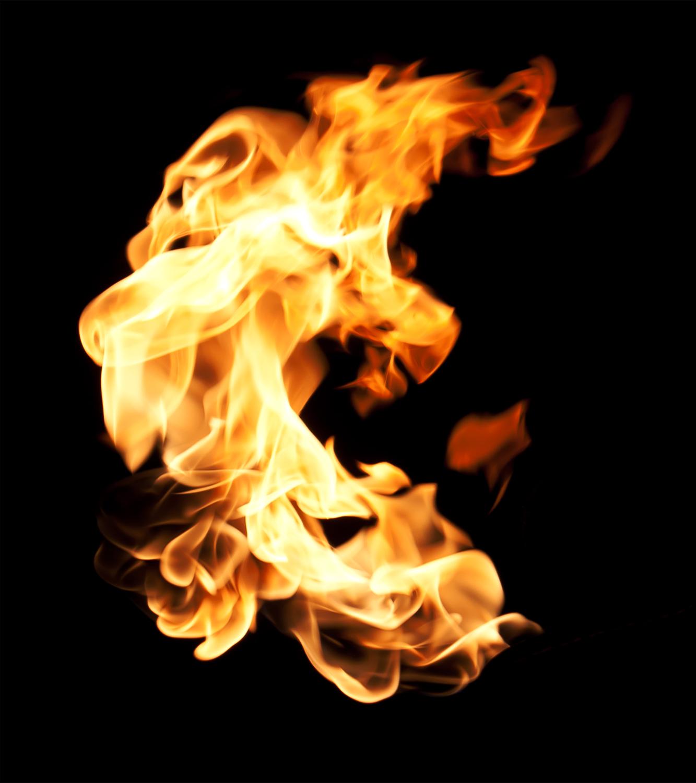 The flames of creativity burn hot.