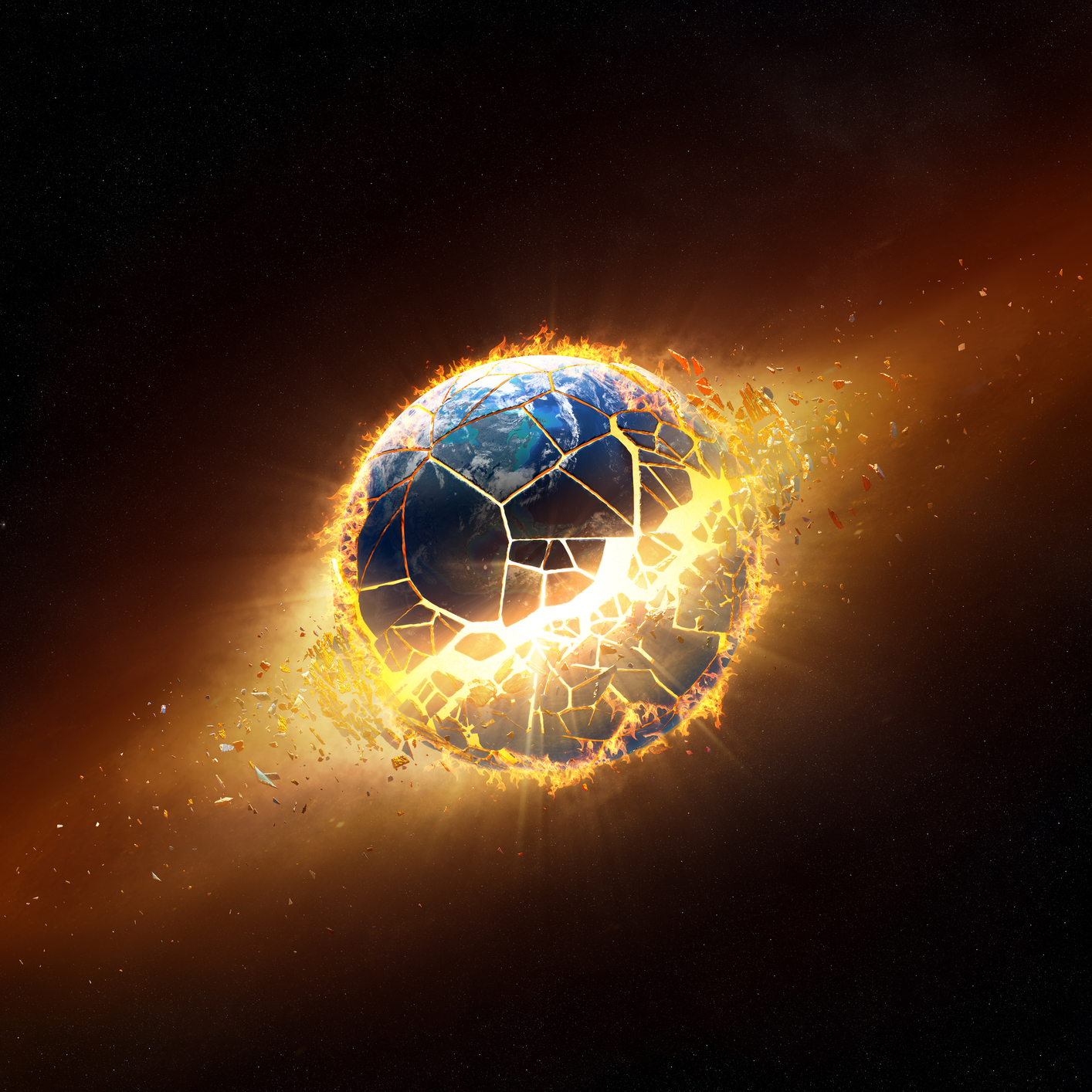 The World Has Ended!   Picture provided by depositphotos.com