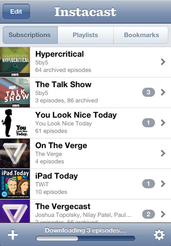 Instacast for iPhone