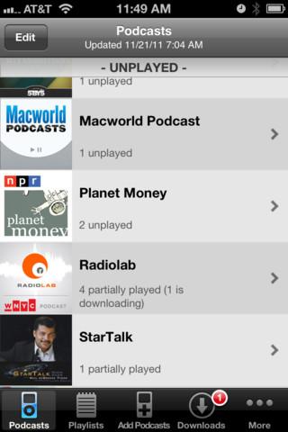 Downcast for iOS