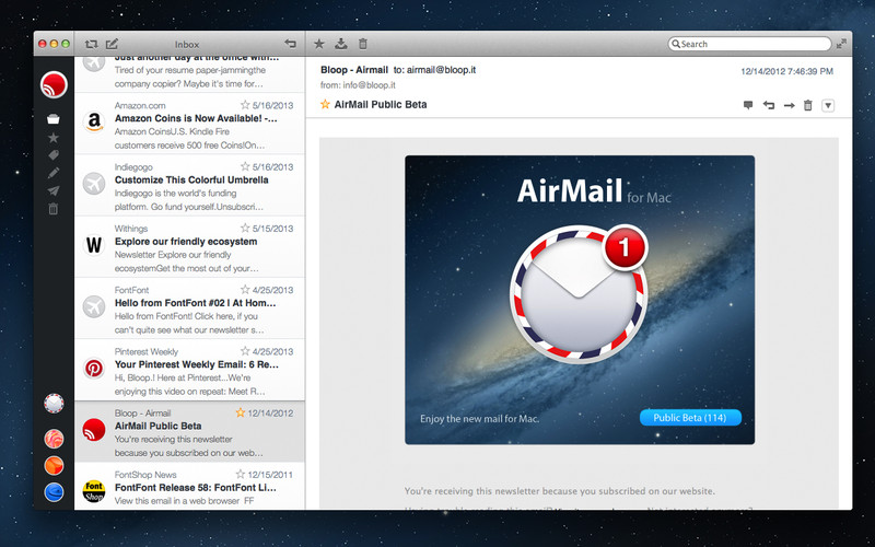 Get Airmail on the Mac App Store.