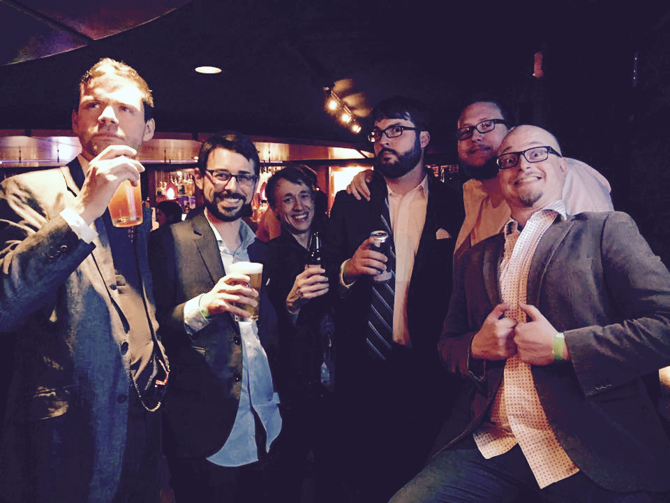 From left to right: Patrick, Stefan, Daniel, Nick Smith (of Investors Needed fame), Nick Bestor, and Derek.