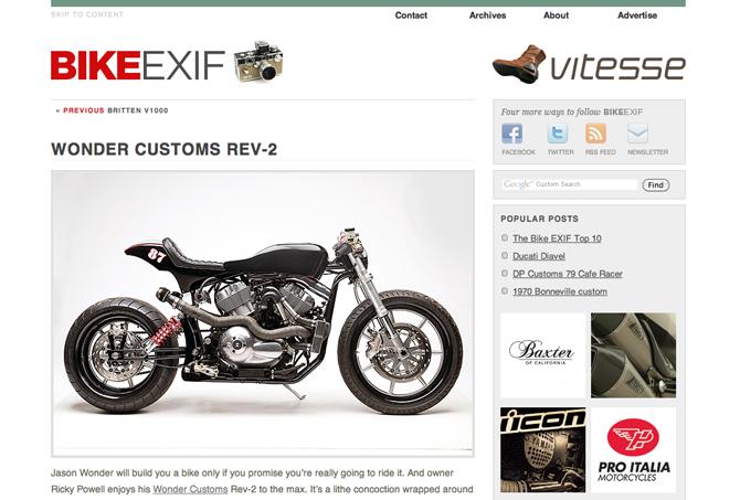 bikeexif wonder rev2