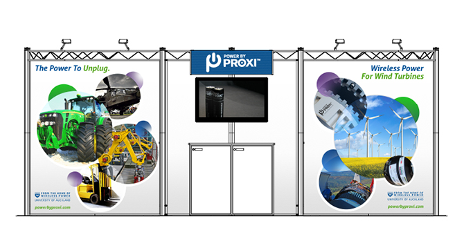 PowerbyProxi Trade Show Booth