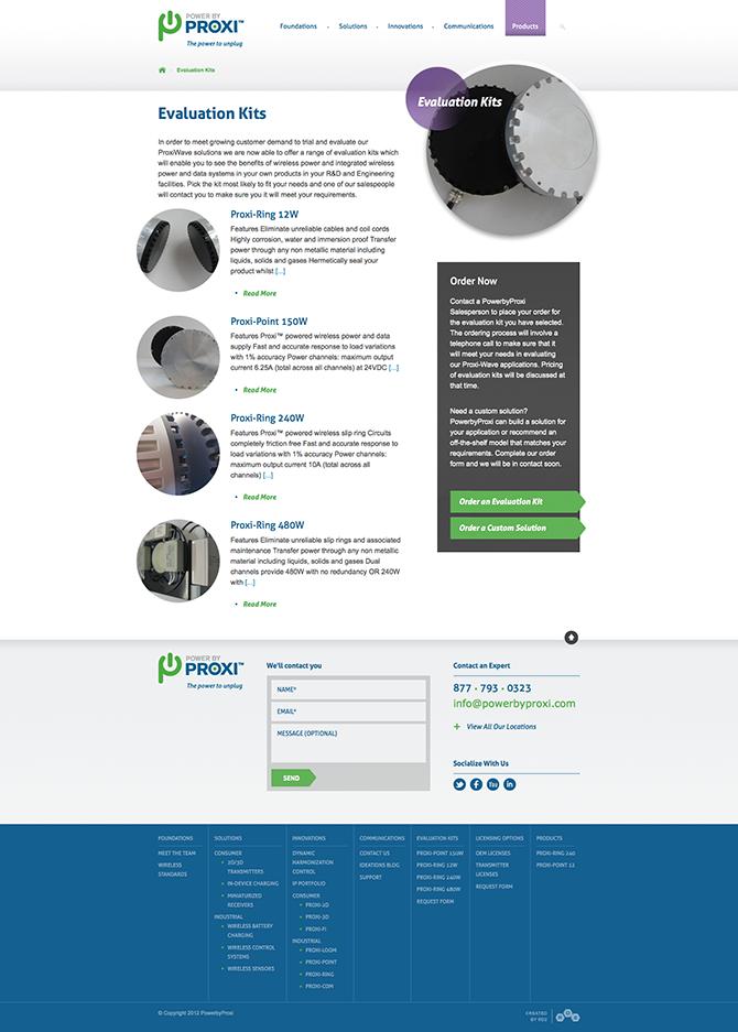 PowerbyProxi : Evaluation Kits
