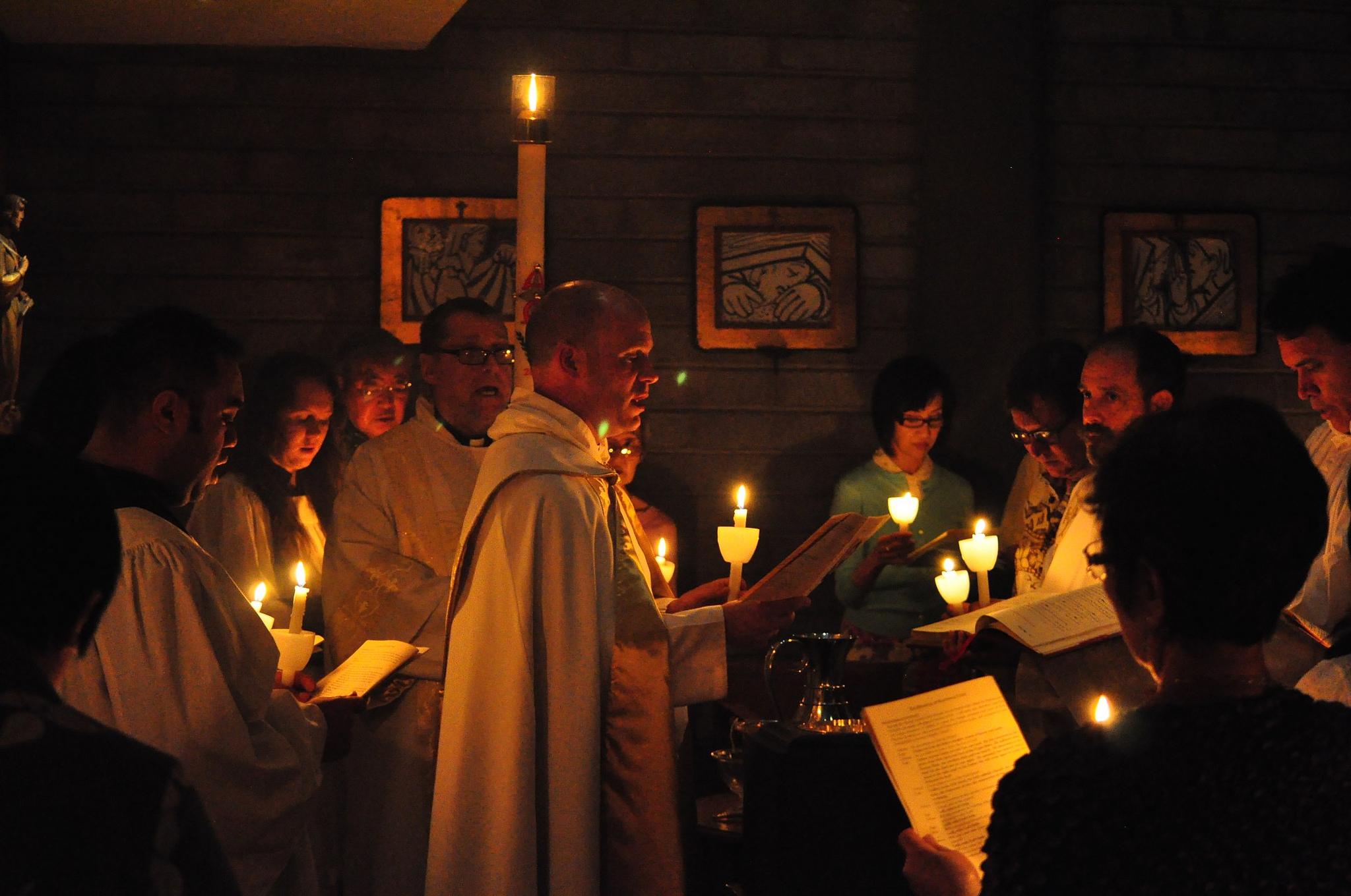Baptisms at the Easter Vigil