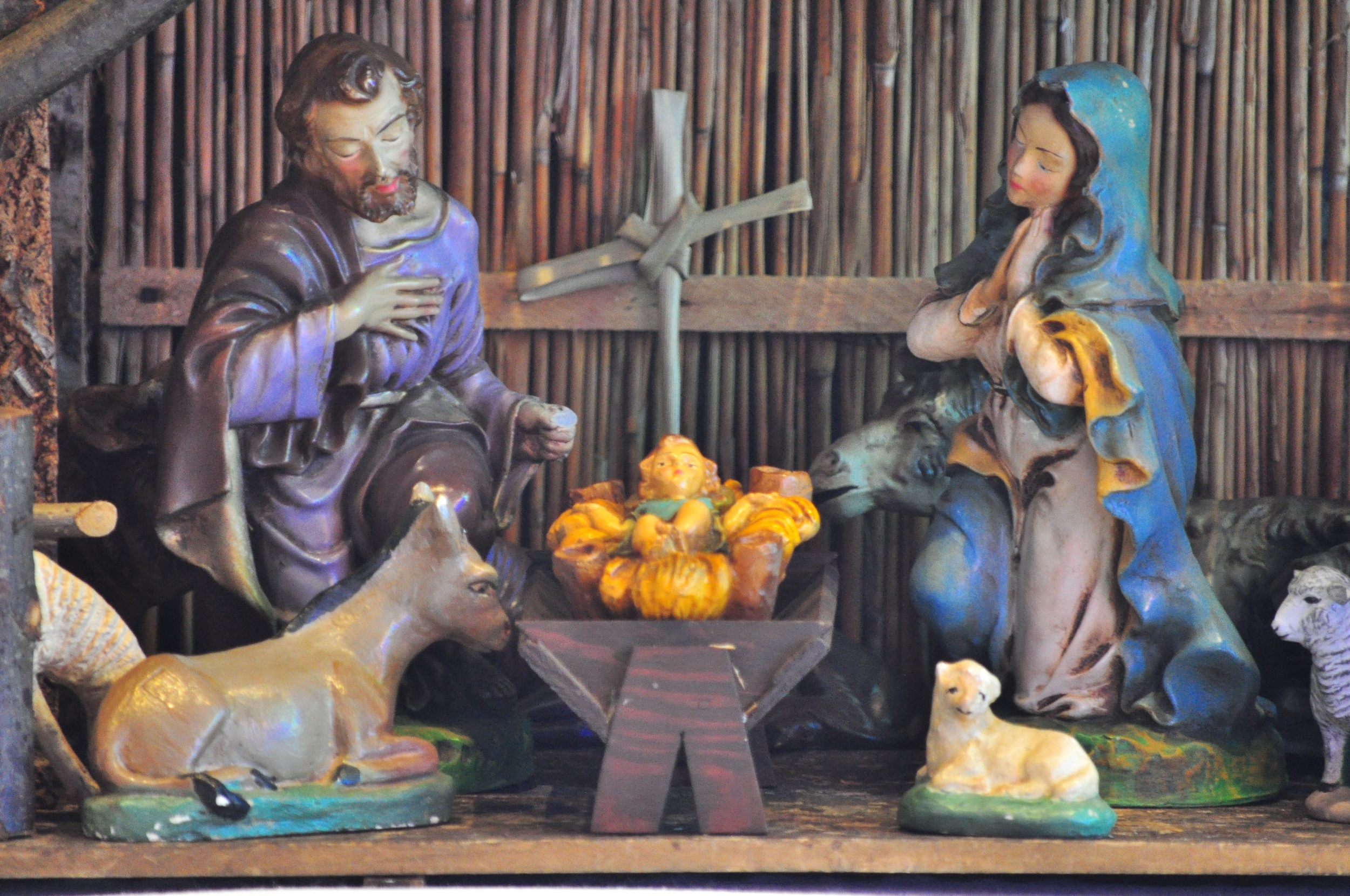 The Crib in the Lady Chapel