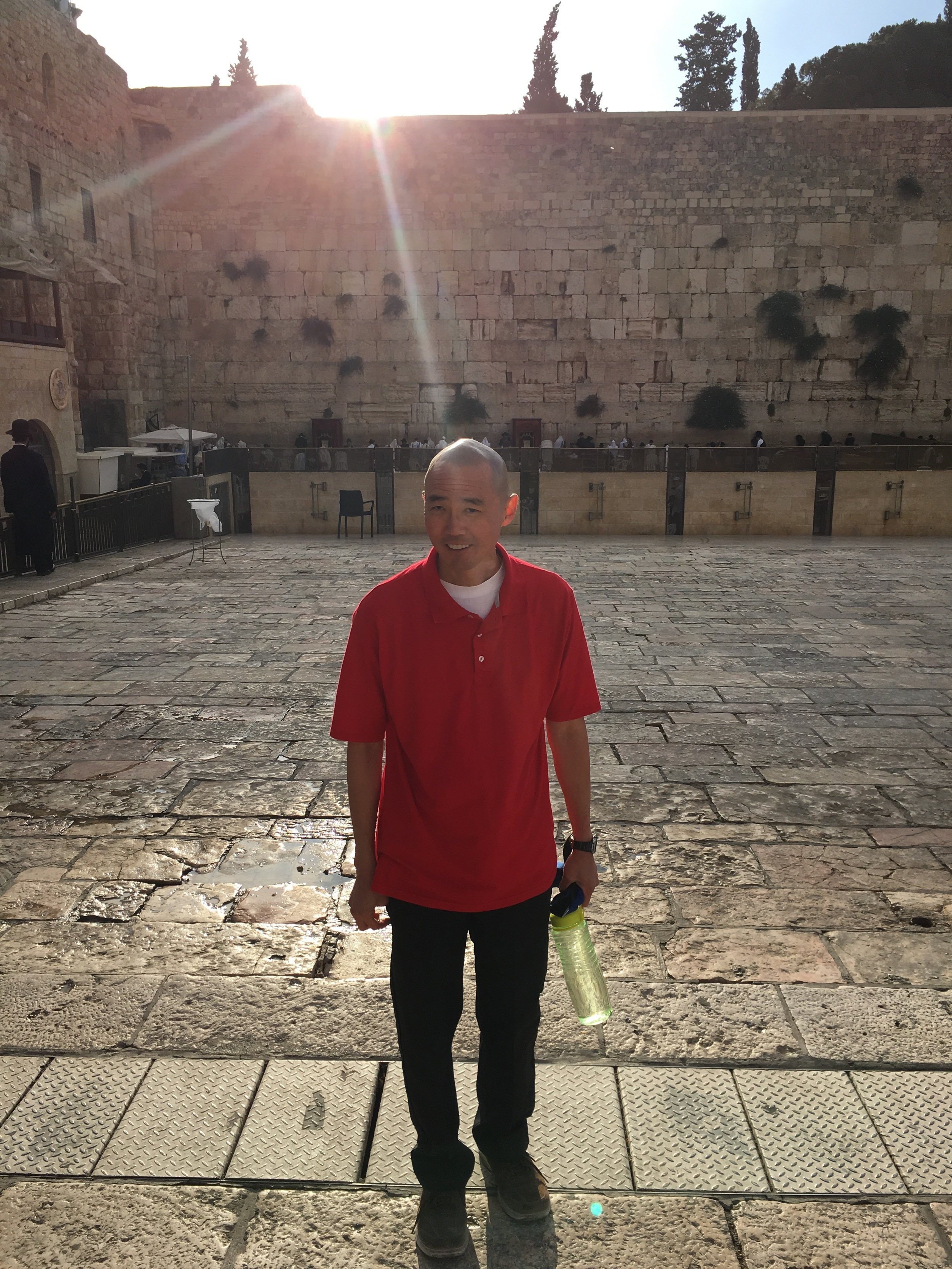 Michael Ida at the Western Wall