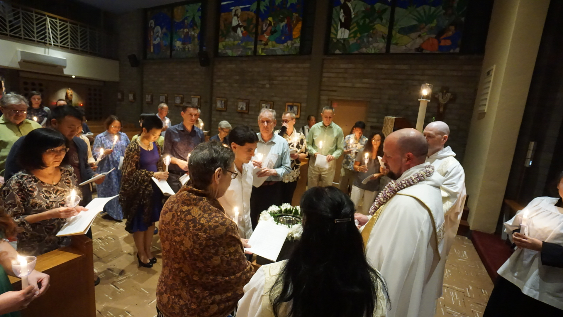 The Sacrament of Holy Baptism at the Easter Vigil