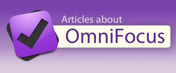 Articles about OmniFocus