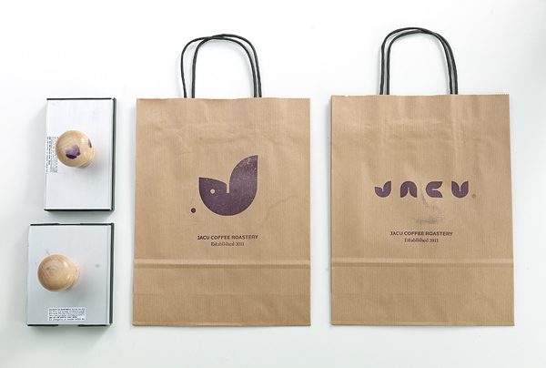 Jacu Coffee Roastery Branding