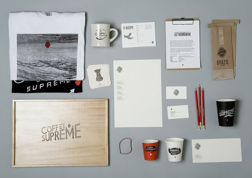 Coffee Supreme Re-Brand