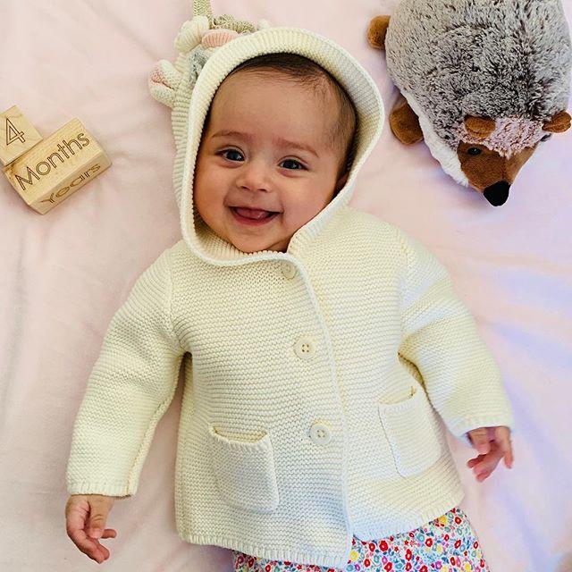 #fourmonths #babygirl
