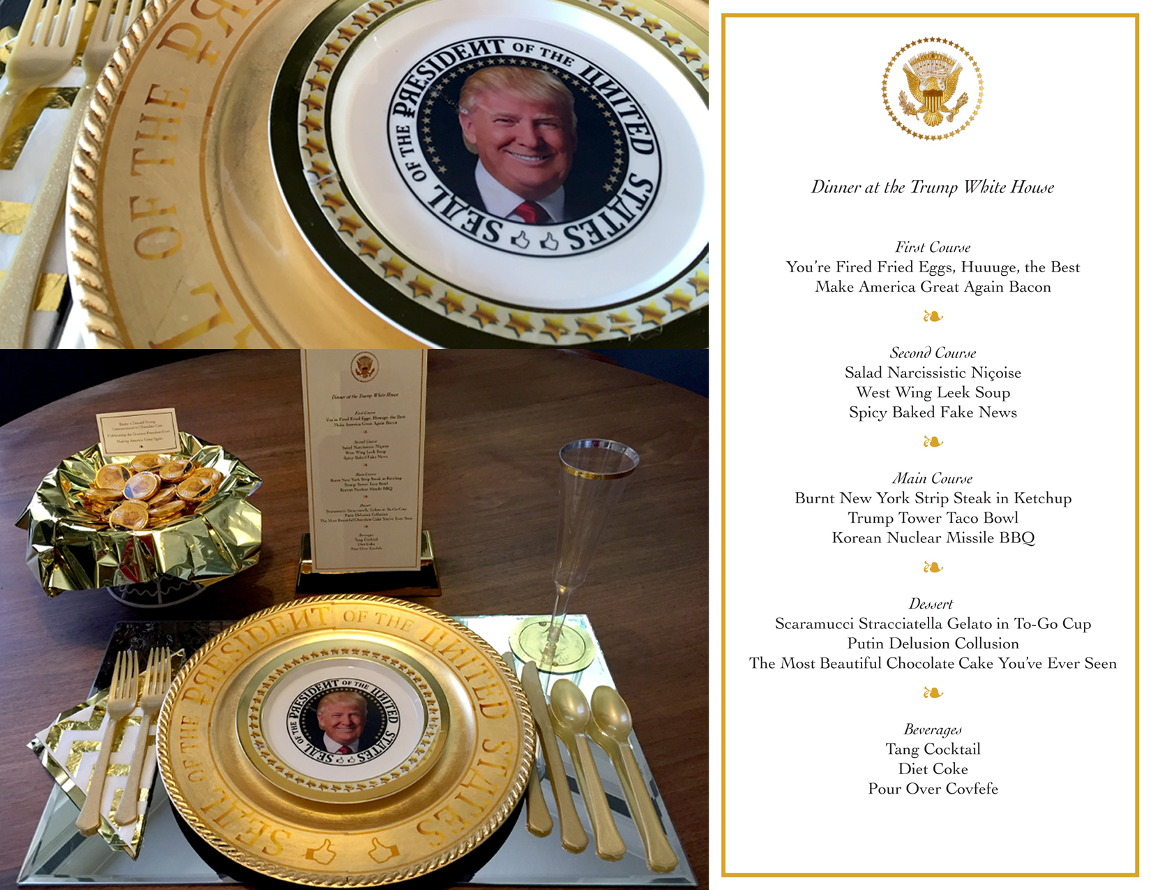Dinner at the Trump White House