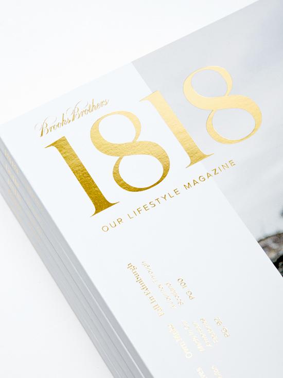 1818 : A Brooks Brothers Magazine