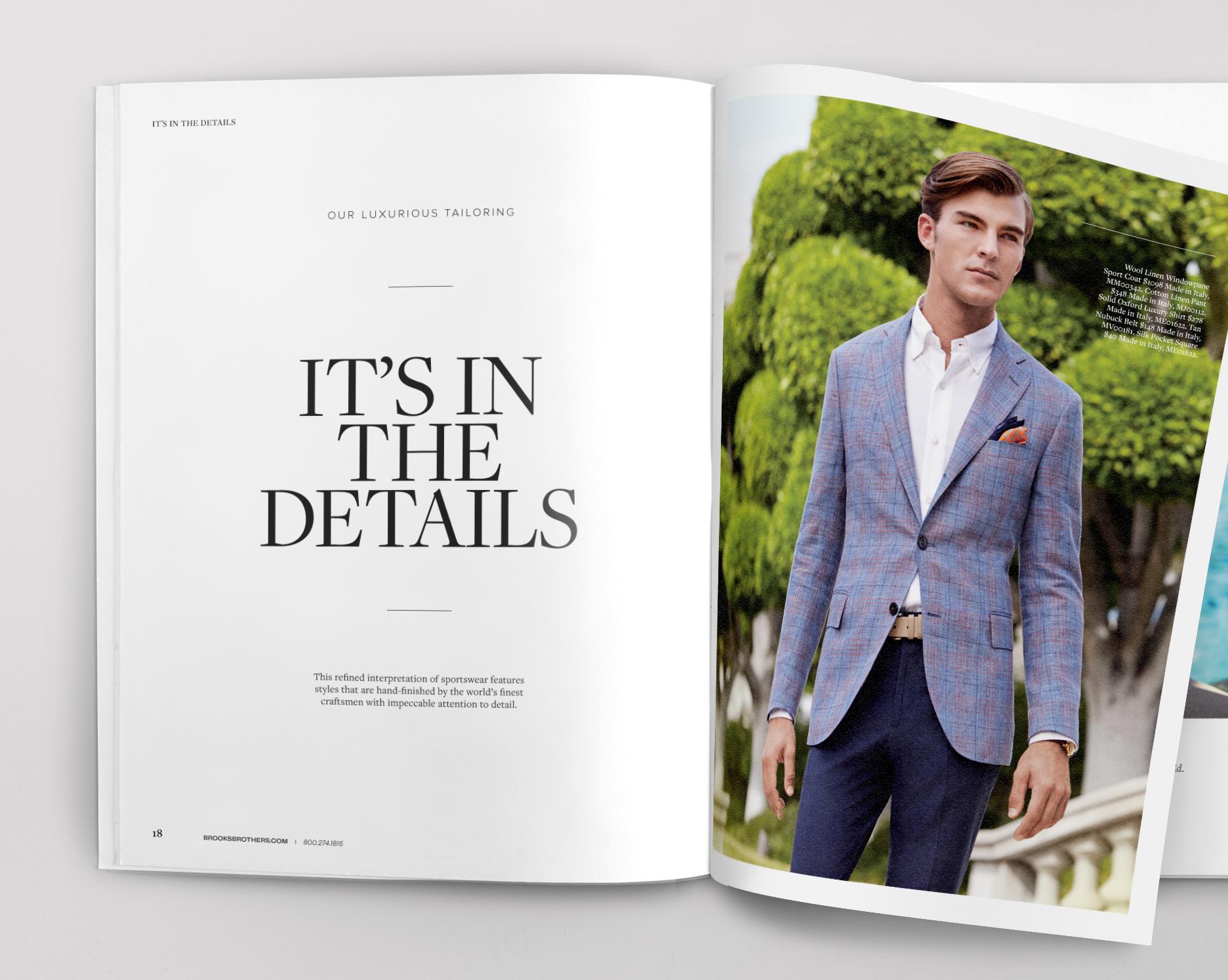 Brooks Brothers Spring 2014 Catalog