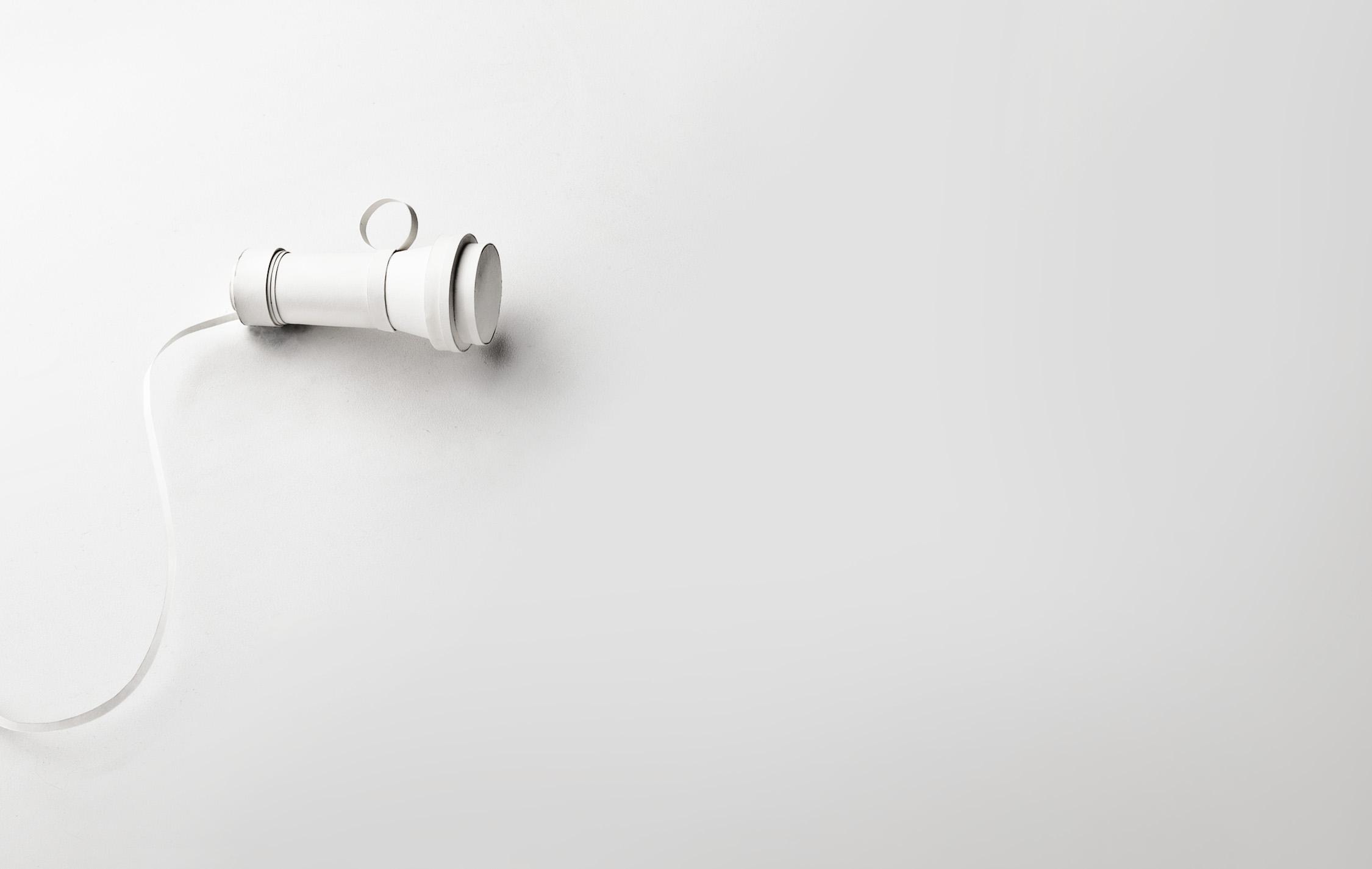 Old-timey ear piece