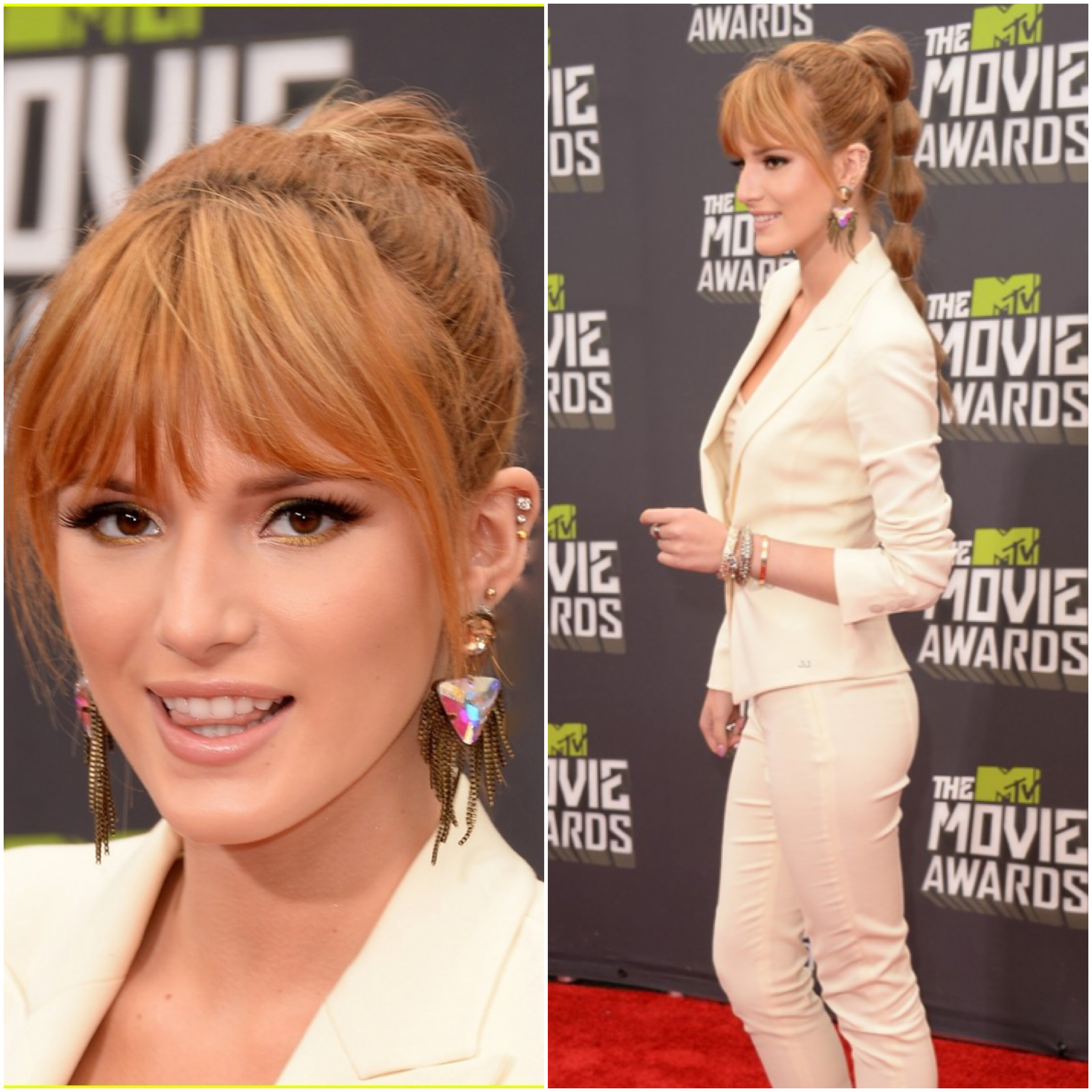 Bella Thorne Hair and Makeup by Tonya Brewer