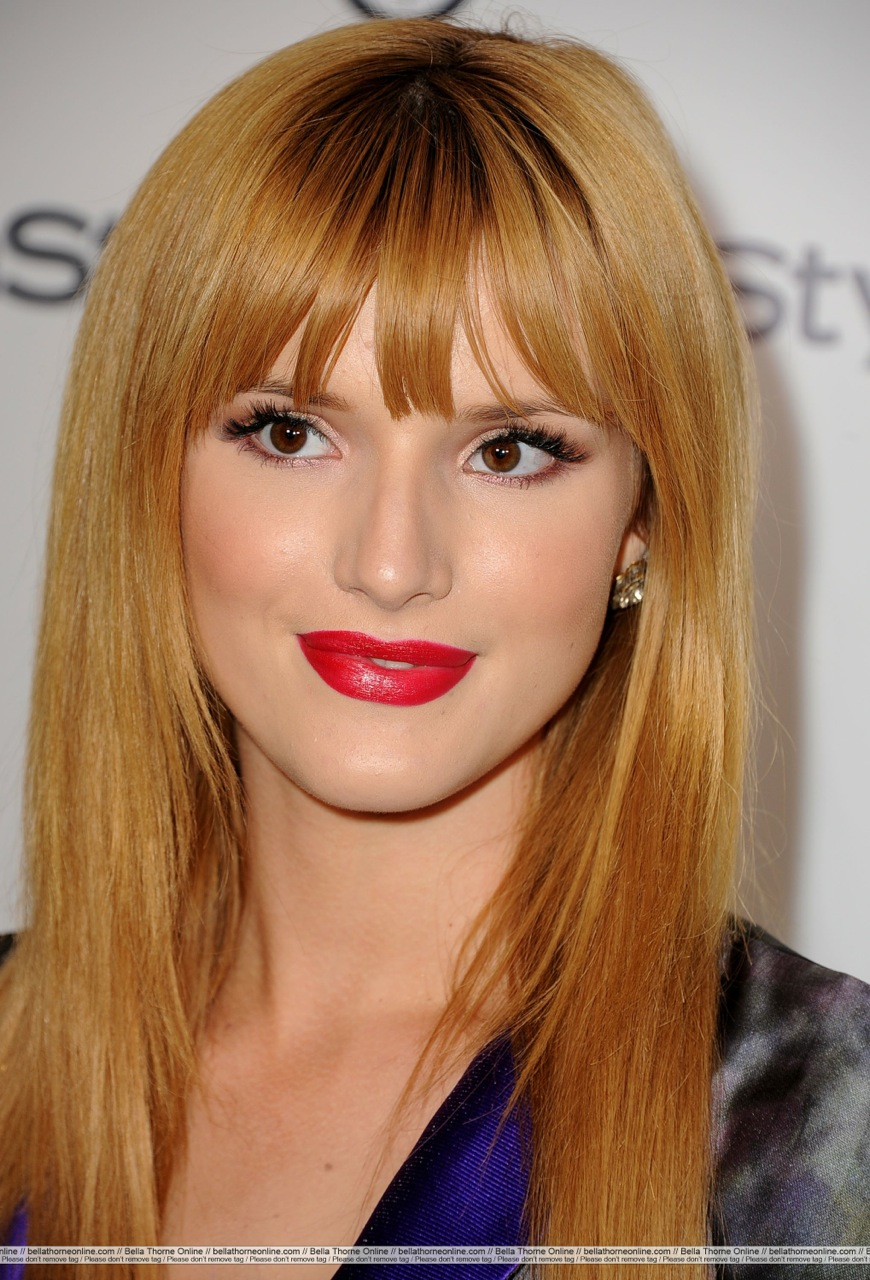 Bella Thorne haie and makeup by Tonya Brewer