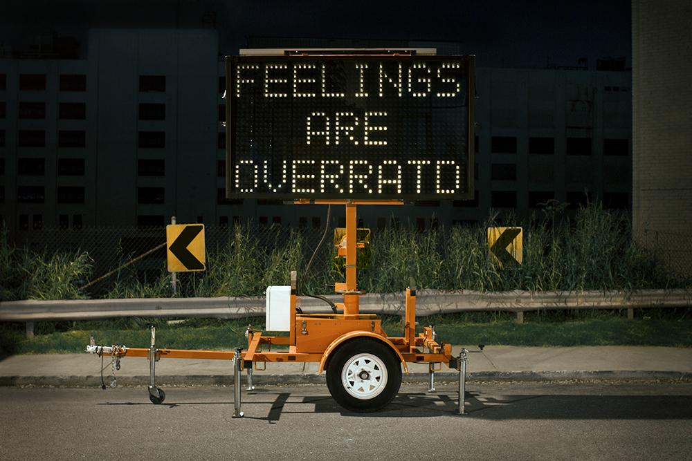 Feelings Are Overrat'd