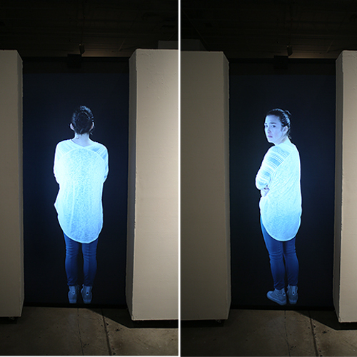 (i want to be private)  (2014-15)   Projected Video, Sensors, and Custom Software
