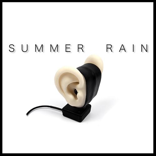 Summer Rain  (2016)   Binaural Audio Installation